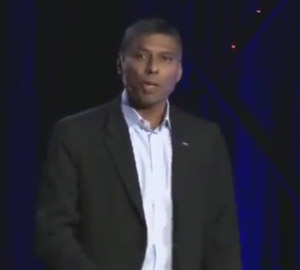 Naveen Jain at TED x in San Francisco