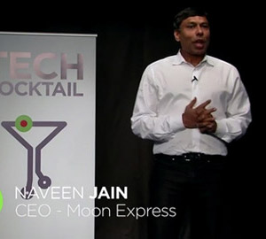 Naveen Jain at TECH Cocktail Sesssions